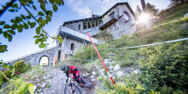 Radon Factory DH Racing | World Cup Lourdes | Helmet Cam, Photos, Video