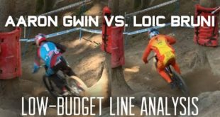 Aaron Gwin vs. Loic Bruni – Val di Sole Low-Budget Line Analysis by VitalMTB