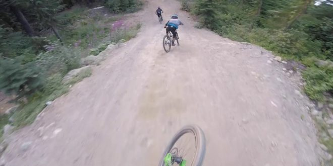 Remy Metailler – Bernado Cruz – Oscar Harnstrom shredding the Whistler BikePark