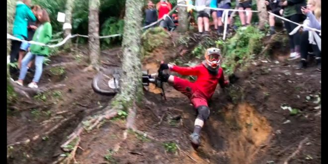 8 Minutes of Carnage from the Crankworx Rotorua Downhill Course – Video