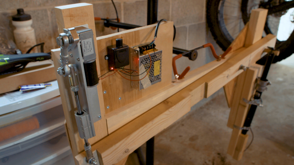 Secret Shed Actuator Setup