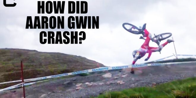 How did Aaron Gwin crash? Ben Cathro at his best :)