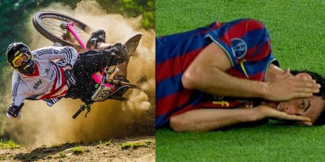 Mountain Bike vs Football: Vol. 5