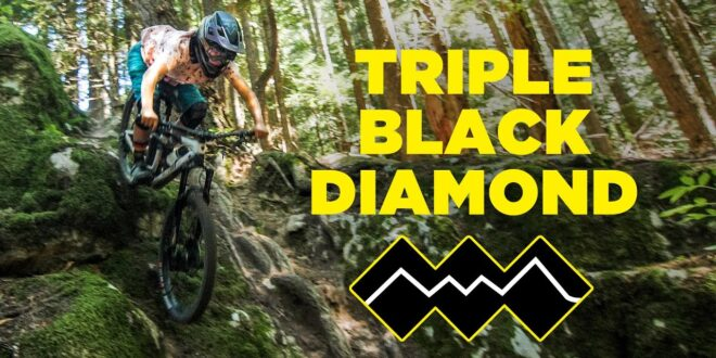 Triple black diamond with help from Geoff Gulevich
