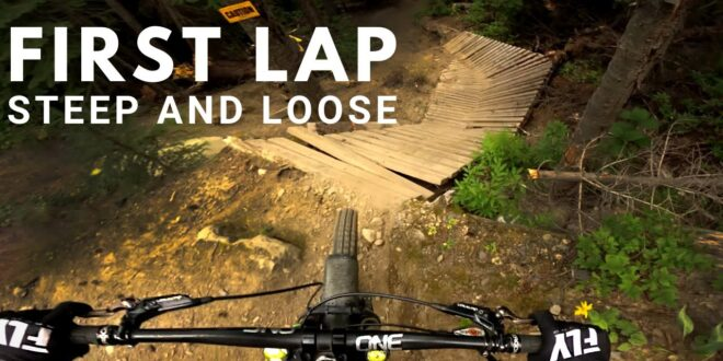 Remy Metailler – Riding Blind the Gnarliest Trail of Sun Peaks Bike Park!